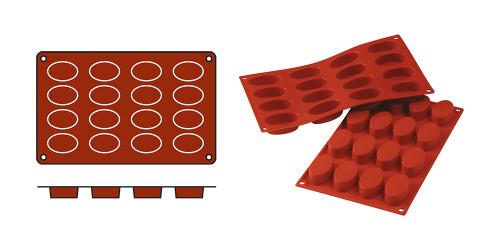 EMGA Mould Ovals-Small (cap.16pce.)