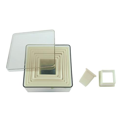EMGA Dough cutter set (smooth/09-pce)