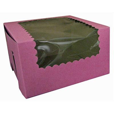 CK Cupcake Box w/wdw Strwby 14x10x4