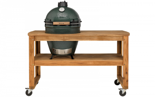 BGE Acacia table kit for Large EGG